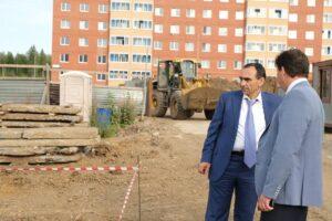 В Губахе начали строить дом для расселенцев из аварийного жилья